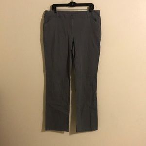White Stag Comfort Fit Pants Gry Flannel